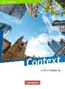 Cover-Bild zu Context. Ausgabe 2019. Schülerbuch - Lehrerfassung. BW von Bartscherer, Irene