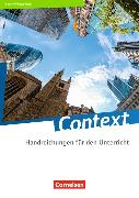 Cover-Bild zu Context. Ausgabe 2019. Handreichungen für den Unterricht. BW von Bartscherer, Irene