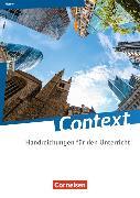 Cover-Bild zu Context. Handreichungen für den Unterricht. HE von Baasner, Martina