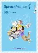 Cover-Bild zu Sprachfreunde 4. Schuljahr. Neubearbeitung 2015. Sprachbuch. Süd von Förster, Katharina