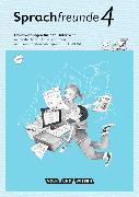 Cover-Bild zu Sprachfreunde 4. Schuljahr. Neubearbeitung 2015. Handreichungen für den Unterricht mit CD-ROM. Nord/Süd von Haugwitz, Solveig