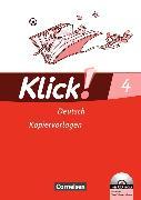 Cover-Bild zu Klick! Erstlesen 4. Deutsch. Kopiervorlagen von Born, Iris