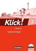 Cover-Bild zu Klick! Erstlesen 3. Kopiervorlagen von Born, Iris
