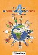 Cover-Bild zu ABC der Tiere 4 - Arbeitsheft Sprachbuch, silbierte Ausgabe · Neubearbeitung von Mrowka-Nienstedt, Kerstin