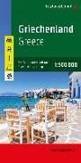 Cover-Bild zu Griechenland, Autokarte 1:500.000. 1:500'000 von Freytag-Berndt und Artaria KG (Hrsg.)
