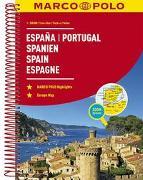 Cover-Bild zu MARCO POLO ReiseAtlas Spanien, Portugal 1:300 000. 1:300'000