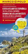 Cover-Bild zu MARCO POLO Karte Spanien, Spanische Atlantikküste 1:300.000. 1:300'000