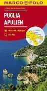 Cover-Bild zu MARCO POLO Karte Italien Blatt 11 Apulien 1:200 000. 1:200'000