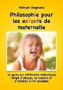 Cover-Bild zu eBook Philosophie pour les enfants de maternelle