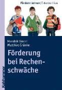 Cover-Bild zu Förderung bei Rechenschwäche von Grünke, Matthias