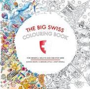 Cover-Bild zu The Big Swiss Colouring Book von Moon, Joanna