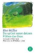 Cover-Bild zu Du spürst unter deinen Füßen das Gras von Müller, Else