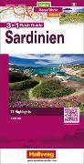 Cover-Bild zu Sardinien Flash Guide Strassenkarte 1:200 000. 1:200'000 von Hallwag Kümmerly+Frey AG (Hrsg.)