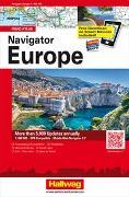 Cover-Bild zu Navigator Europe von Hallwag Kümmerly+Frey AG (Hrsg.)