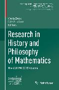 Cover-Bild zu eBook Research in History and Philosophy of Mathematics