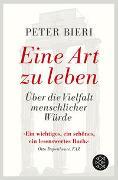 Cover-Bild zu Eine Art zu leben von Bieri, Peter