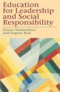 Cover-Bild zu Nemerowicz, Gloria (Hrsg.): Education for Leadership and Social Responsibility (eBook)