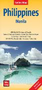 Cover-Bild zu Nelles Map Landkarte Philippines - Manila. 1:1'500'000 von Nelles Verlag (Hrsg.)