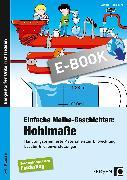 Cover-Bild zu Einfache Mathe-Geschichten: Hohlmaße (eBook) von Rosenkranz, Claudia