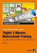 Cover-Bild zu Täglich 5 Minuten Rechtschreib-Training 4. Klasse (eBook) von Hohmann, Karin