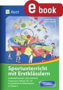 Cover-Bild zu Sportunterricht mit Erstklässlern (eBook) von Rücker, Kristin