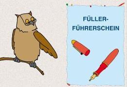 Cover-Bild zu Füller-Führerschein - Klassensatz Führerscheine von Roessler, Johanna