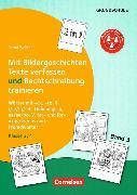 Cover-Bild zu Kombitraining Deutsch. Band 3: Klasse 3/4 - 2 in 1: Mit Bildergeschichten Texte verfassen und Rechtschreibung trainieren von Wehren, Bernd