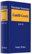 Cover-Bild zu Bd. 2: §§ 35-52 - Münchener Kommentar zum GmbH-Gesetz