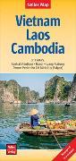 Cover-Bild zu Nelles Map Landkarte Vietnam - Laos - Cambodia. 1:1'500'000 von Nelles Verlag (Hrsg.)