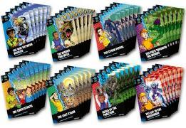 Cover-Bild zu Caldecott, Elen: Project X Alien Adventures: Dark Blue Book Band, Oxford Levels 15-16: Dark Blue Book Band, Class Pack of 48