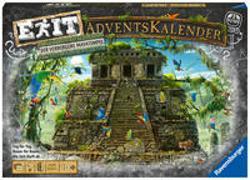 Cover-Bild zu Ravensburger 18956 - EXIT Adventskalender - Der verborgene Mayatempel - 24 Rätsel für EXIT-Begeisterte ab 10 Jahren