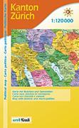 Cover-Bild zu Kanton Zürich. Politische Karte. 1:120'000