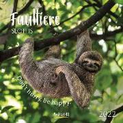 Cover-Bild zu Faultier 2022