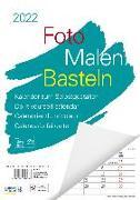 Cover-Bild zu Foto-Malen-Basteln A4 weiß Notice 2022 von Korsch, Verlag (Hrsg.)