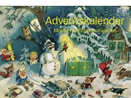 Cover-Bild zu Nostalgie im Advent von Baumgarten, Fritz (Illustr.)