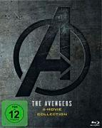 Cover-Bild zu Russo, Anthony (Reg.): The Avengers 1-4