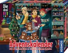 Cover-Bild zu Die drei !!! Adventskalender 2020