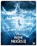 Cover-Bild zu Buck, Chris (Reg.): La Reine des Neiges 2 - 3D + 2D Steelbook