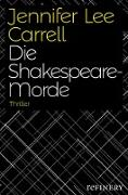 Cover-Bild zu Carrell, Jennifer Lee: Die Shakespeare-Morde (eBook)