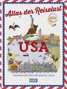 Cover-Bild zu DuMont Bildband Atlas der Reiselust USA von Gloaguen, Philippe
