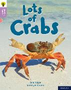 Cover-Bild zu Hogan, Sam: Oxford Reading Tree Word Sparks: Level 1+: Lots of Crabs