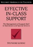 Cover-Bild zu Effective In-Class Support (eBook) von Lorenz, Stephanie