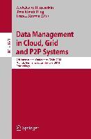 Cover-Bild zu Hameurlain, Abdelkader (Hrsg.): Data Management in Cloud, Grid and P2P Systems