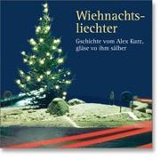 Cover-Bild zu Wiehnachtsliechter von Kurz, Alex