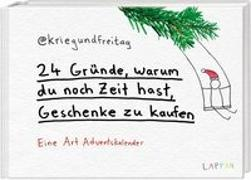 Cover-Bild zu @kriegundfreitag: 24 Gründe, warum du noch Zeit hast Geschenke zu kaufen