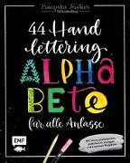 Cover-Bild zu Handlettering - 44 Alphabete für alle Anlässe: Leg los, entdecke deinen Stil! von Feistner, Franziska
