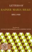 Cover-Bild zu Letters of Rainer Maria Rilke, 1892-1910 (eBook) von Rilke, Rainer Maria