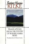 Cover-Bild zu Translations from the Poetry of Rainer Maria Rilke (eBook) von Rilke, Rainer Maria