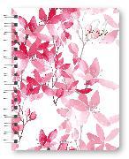 Cover-Bild zu Glamour Planner Pink Flowers 2021 - Diary - Buchkalender - Taschenkalender - 16,5x21,6