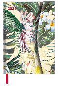 Cover-Bild zu Jungle 2021 - Diary - Buchkalender - Taschenkalender - 16x22
